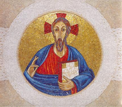 Kristus Pantokrator - Cappella Redemptoris Mater Vaticano - Foto Centro Aletti