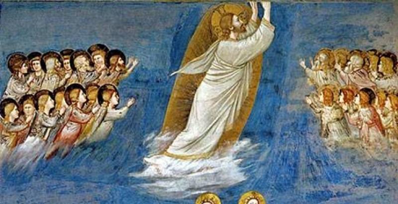 Gospodov vnebohod - Giotto - vir - splet